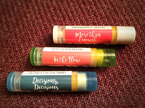 Healthy, Happy Lips Chapsticks (3-Pack)