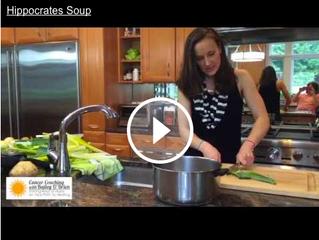 Gerson Recipe: Hippocrates Soup [Video]