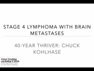 Interiew with a 40-Year Stage 4 Lymphoma Survivor!!
