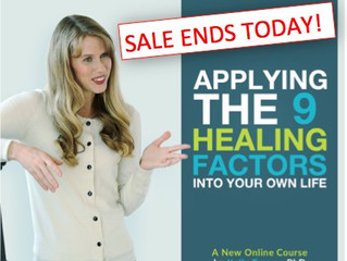 Discounts Ending Today, Positivity Summit & A Global Quest for the Cures
