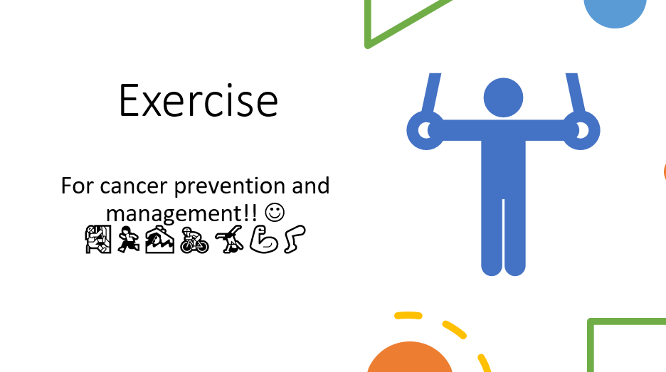 Exercise and Cancer PowerPoint Presentation