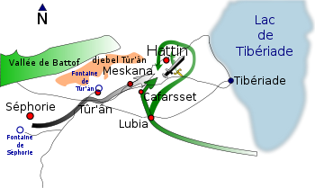 La bataille de Hattin (4 juillet 1187)