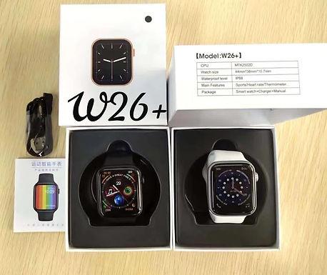 W 26 + plus full infinity screen smart watch
