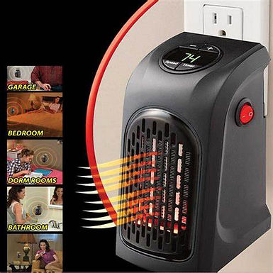 Handy heater warm air
