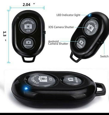 bluetooth remote control selfie camera shutter
