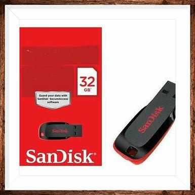 San disk pen drive 32 GB storage