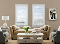 Fauxwood WindowSet_TransitionalA_WoodBlindsWhite2.5inch_Carriann