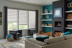 zebra shades Comfortex