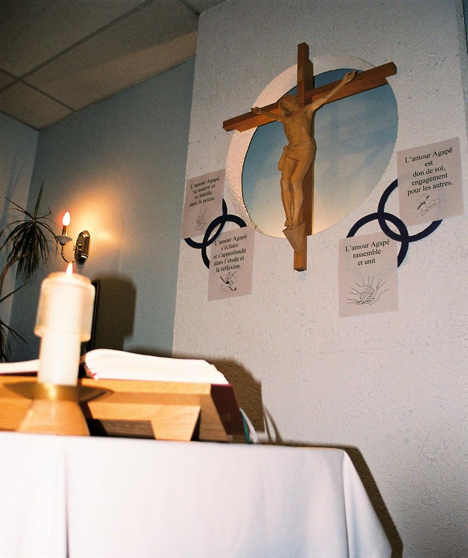 Notre chapelle, lieu de recueillement en tout temps