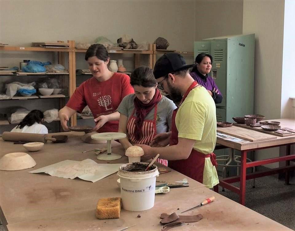 Activité, essayer la poterie 2018