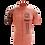 Thumbnail: Camisa Maori Salmon Manga Curta