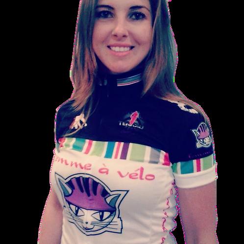Camisa Jersey femme à vélo