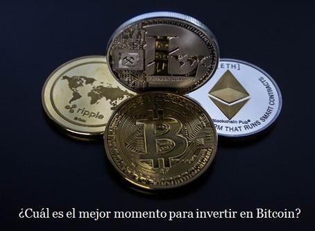 ¿Cuál es el mejor momento para invertir en Bitcoin?