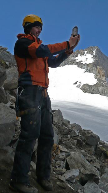 Bergkristall-Doppelender aus dem Jahr 2009