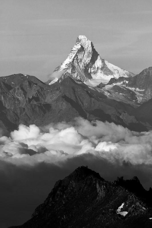 Wer kennt es nicht? Das Matterhorn...