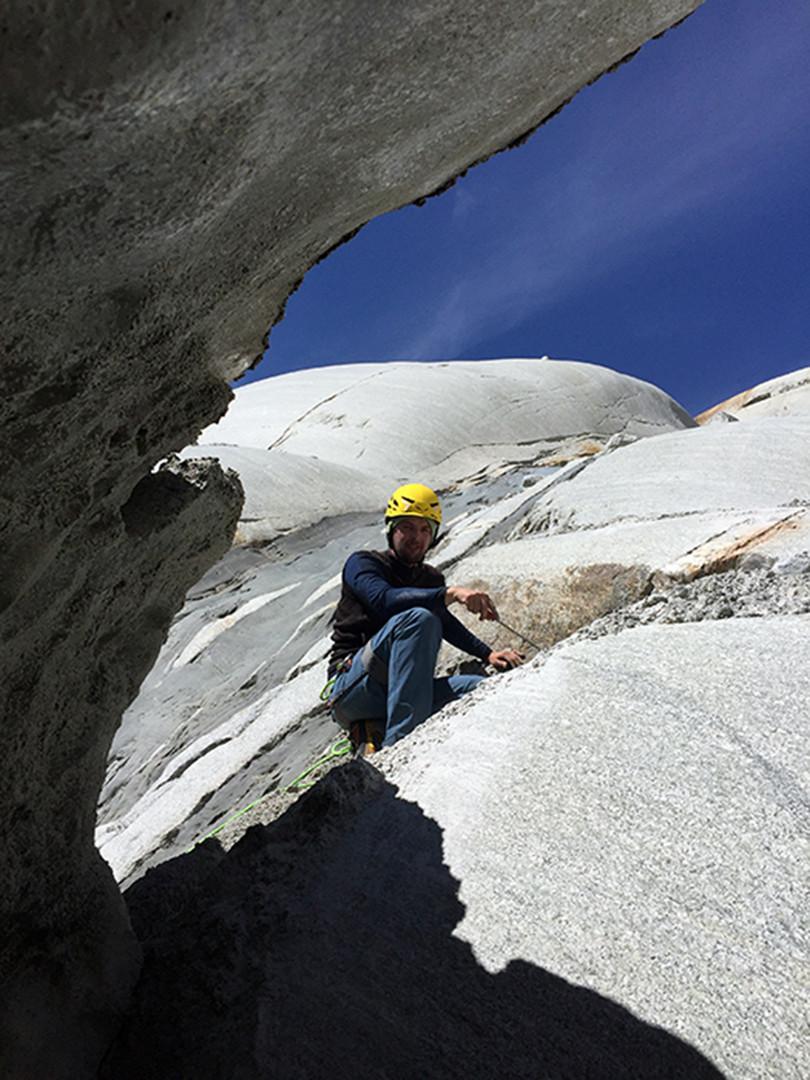 Strahlen am Gletscherrand
