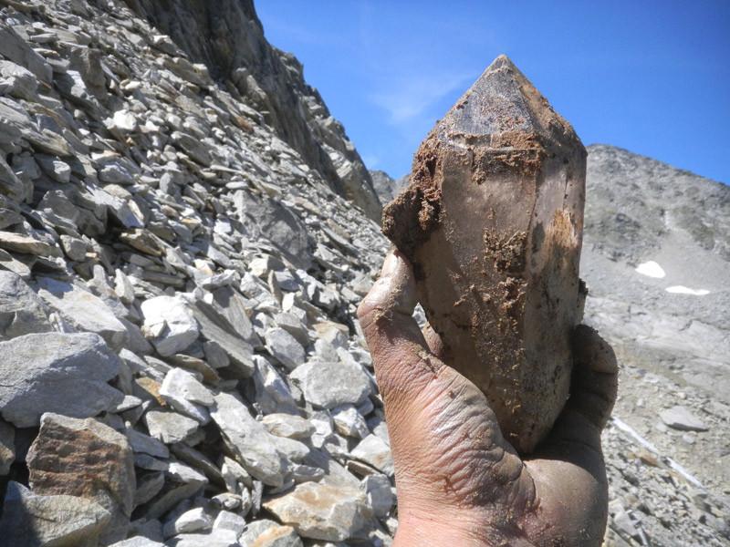 Ein weiterer Bergkristall aus dem Tujetsch
