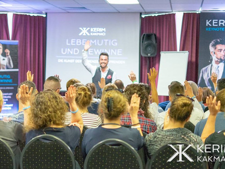 Lebe mutig und gewinne - Opening Tour erfolgreich in Frankfurt gestartet