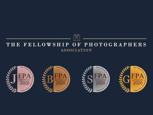 The Fellowship of Photographers Association - March 2021 Image Awards