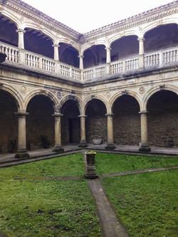 Monasterio de Zenarruza cloisters