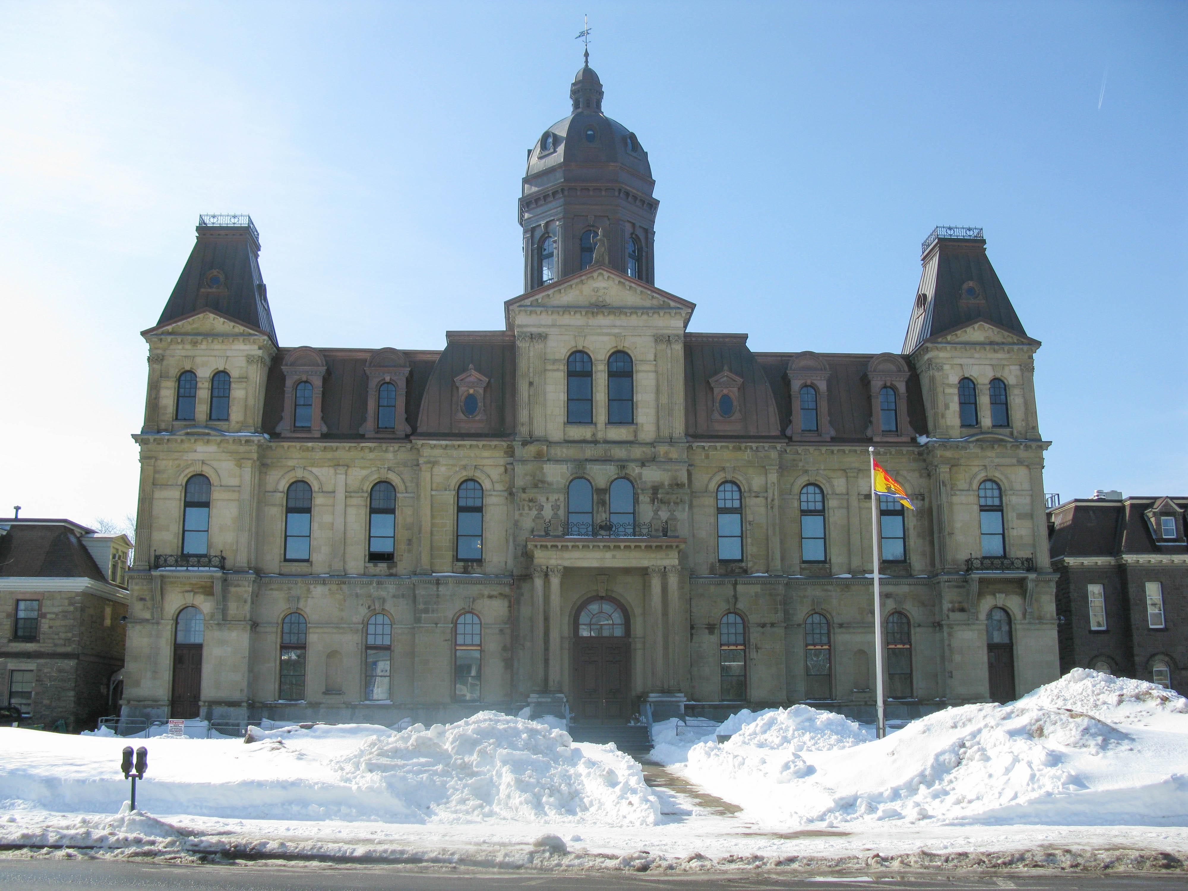 New Brunswick Legislative Building, Fredericton