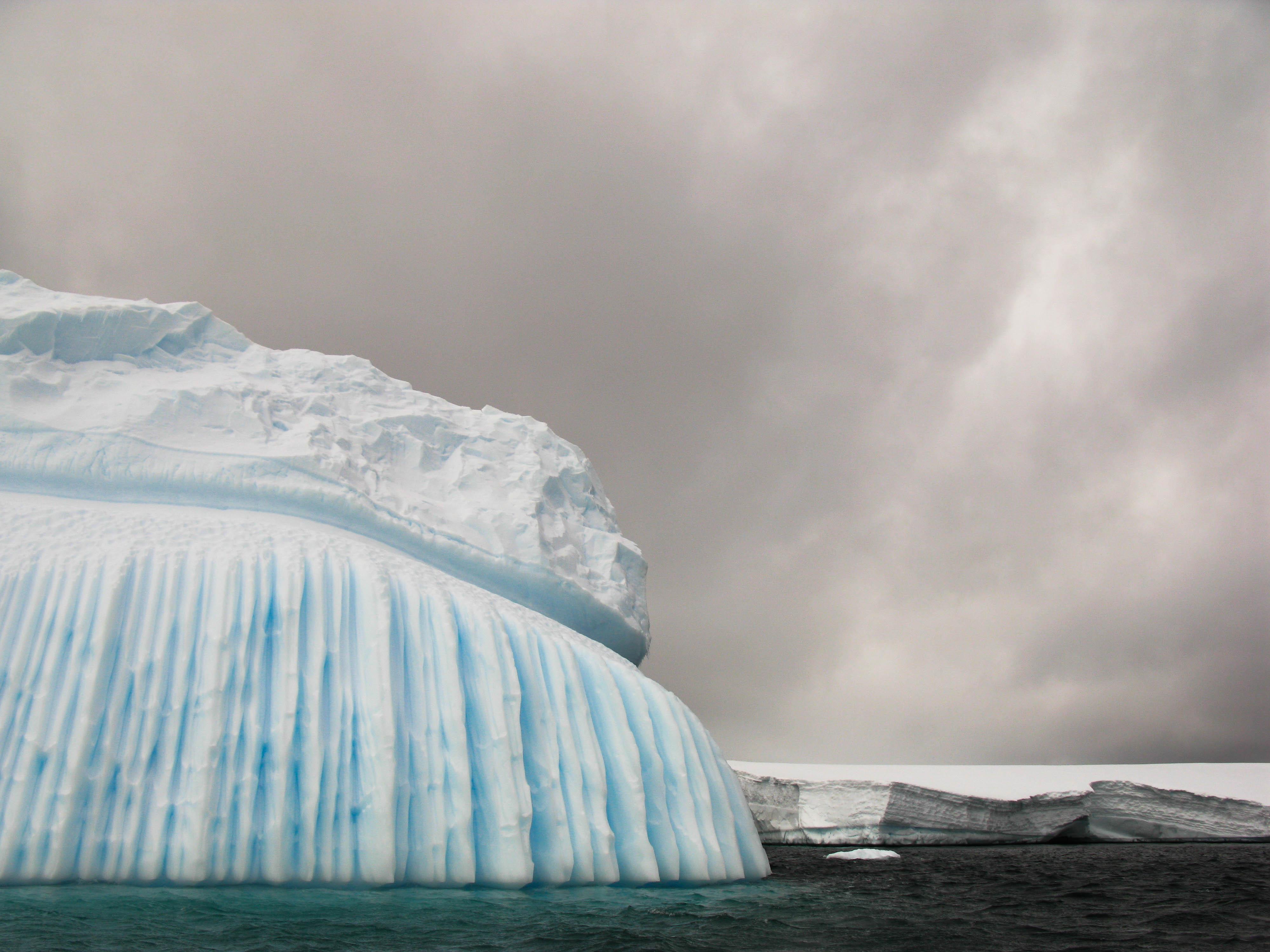 Wind-sculpted ice 2, Pléneau Island, Antarctica