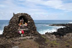 Coastal shrine, Hanga Kio'e