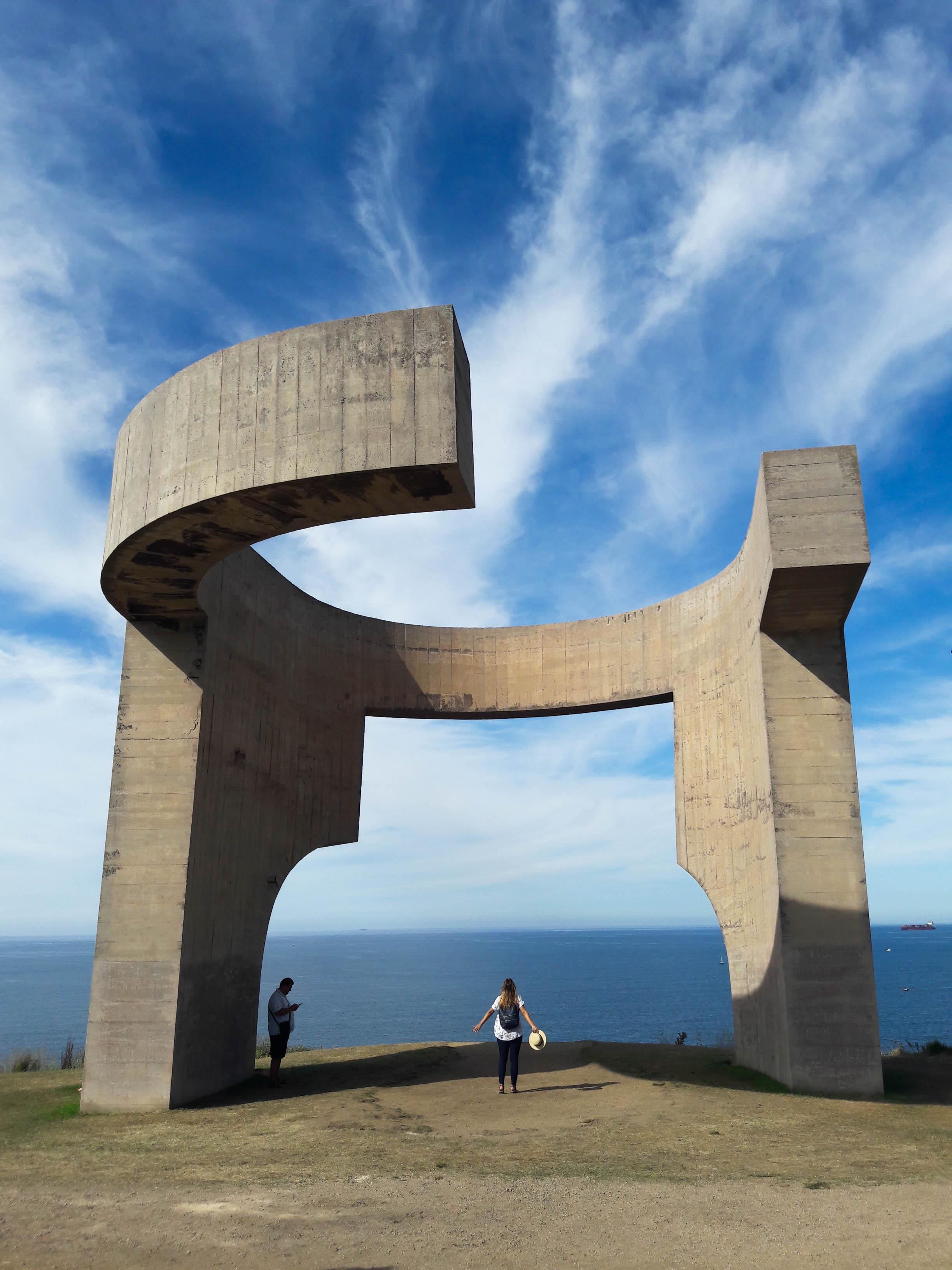 Elogio del Horizonte, Parque del Cerro de Santa Catalina, Gijón