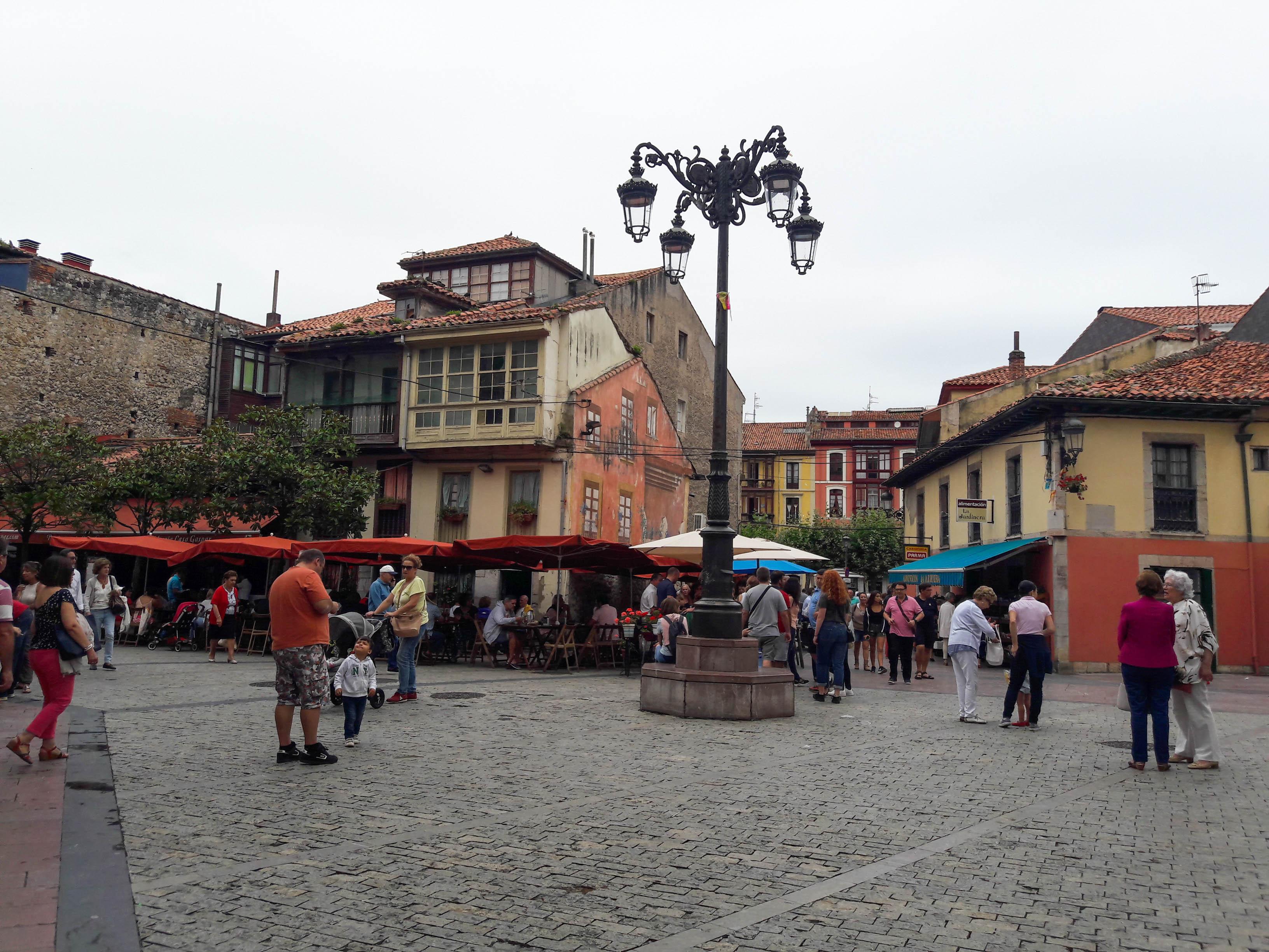 Ribadesella street scene