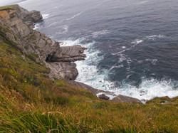 Cliff route to Somo