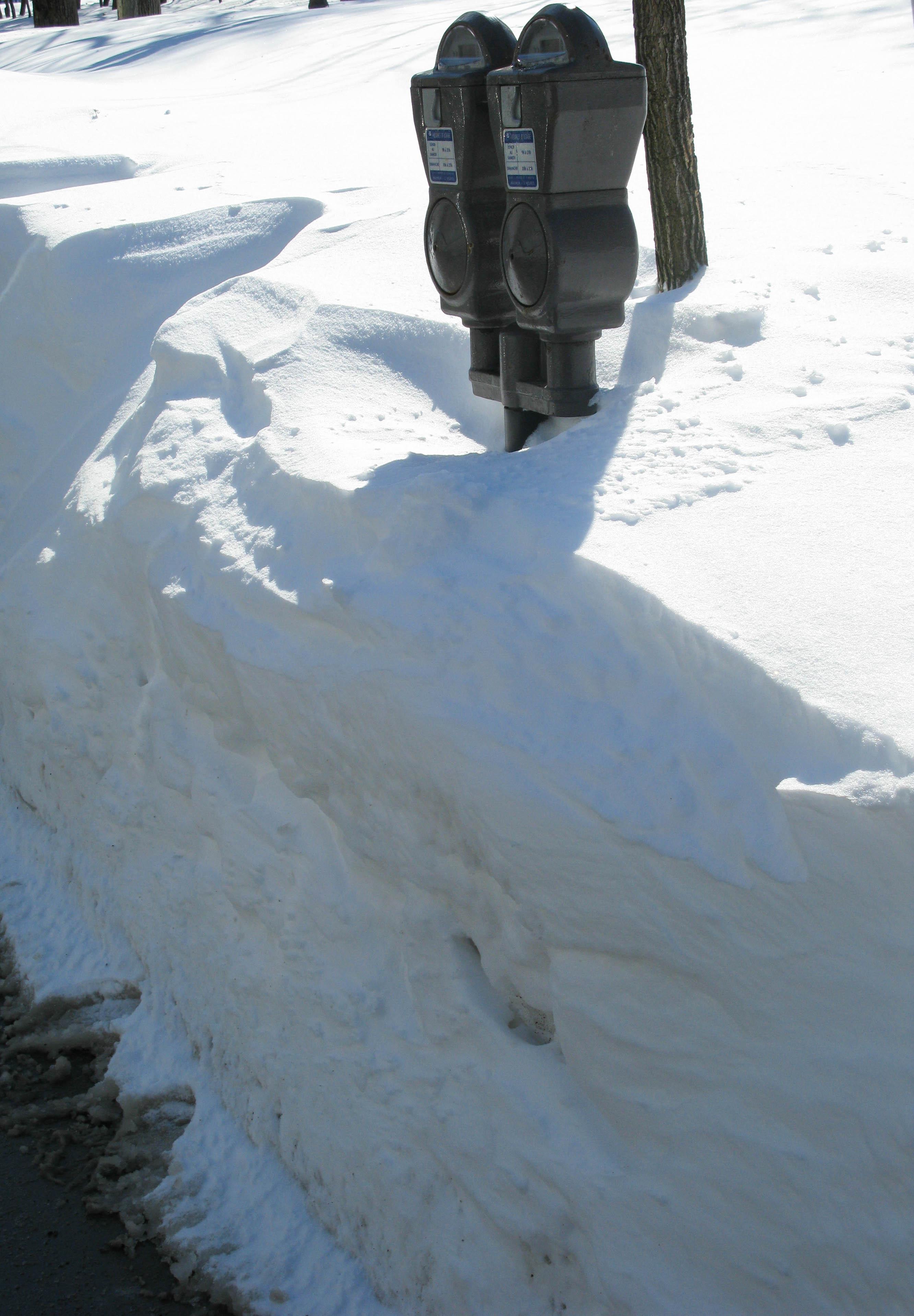 Deep snow, Québec