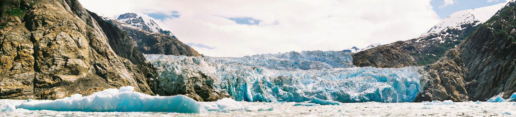 south sawyer glacier panorama 2