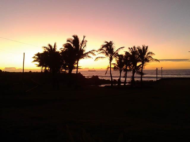 Sunset at Hanga Vare Vare