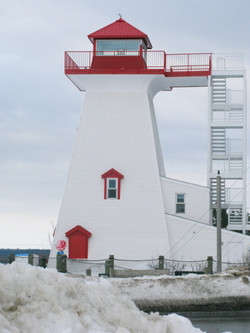 Fredericton Lighthouse, New Brunswick