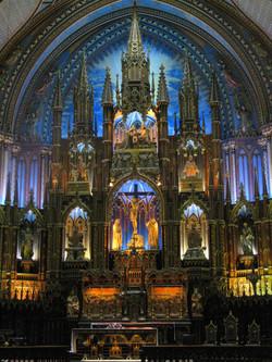 Notre-Dame Basilica altar, Montréal