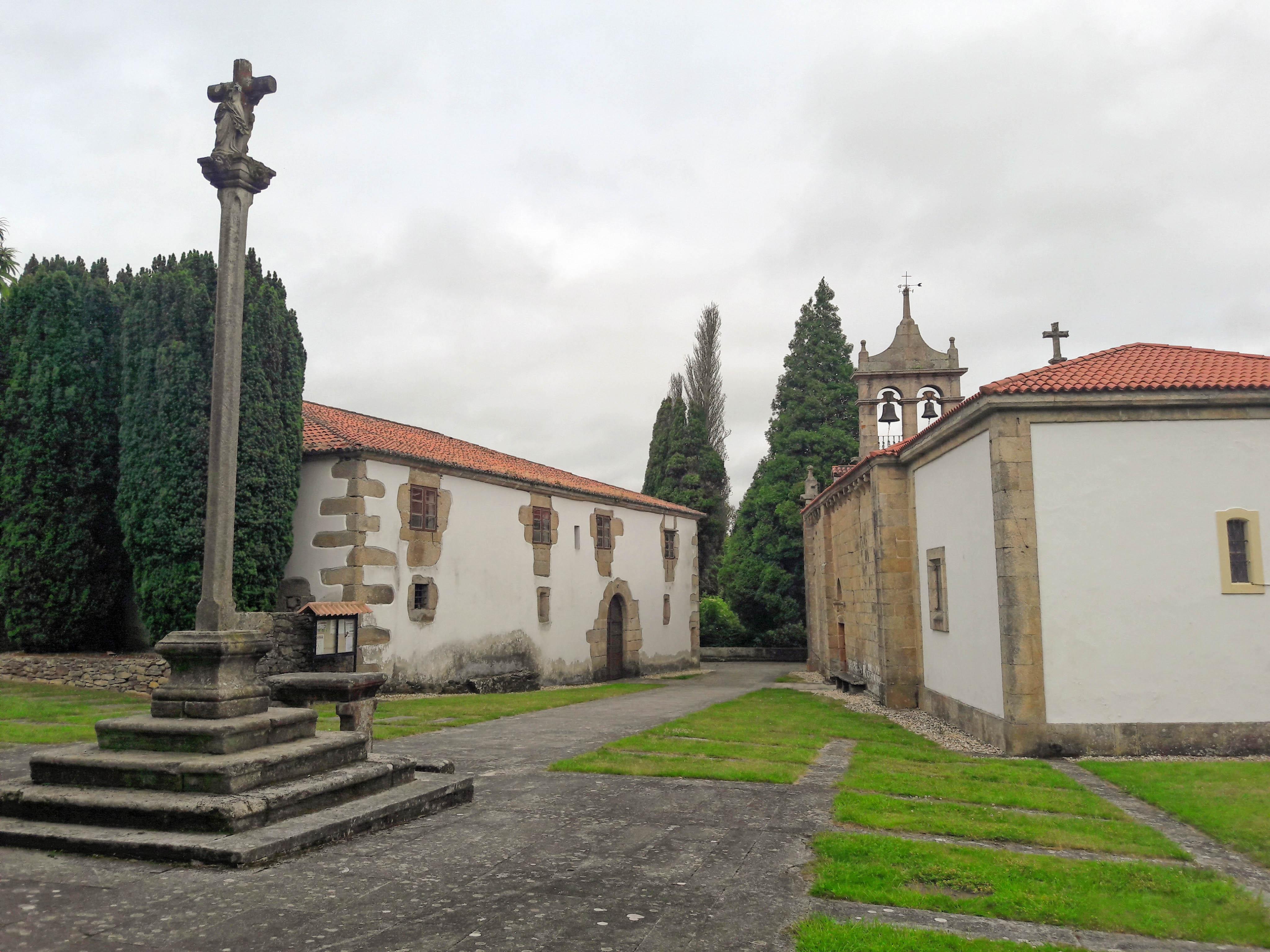 Iglesia de Santiago de Sigrás, Cambre, Galicia
