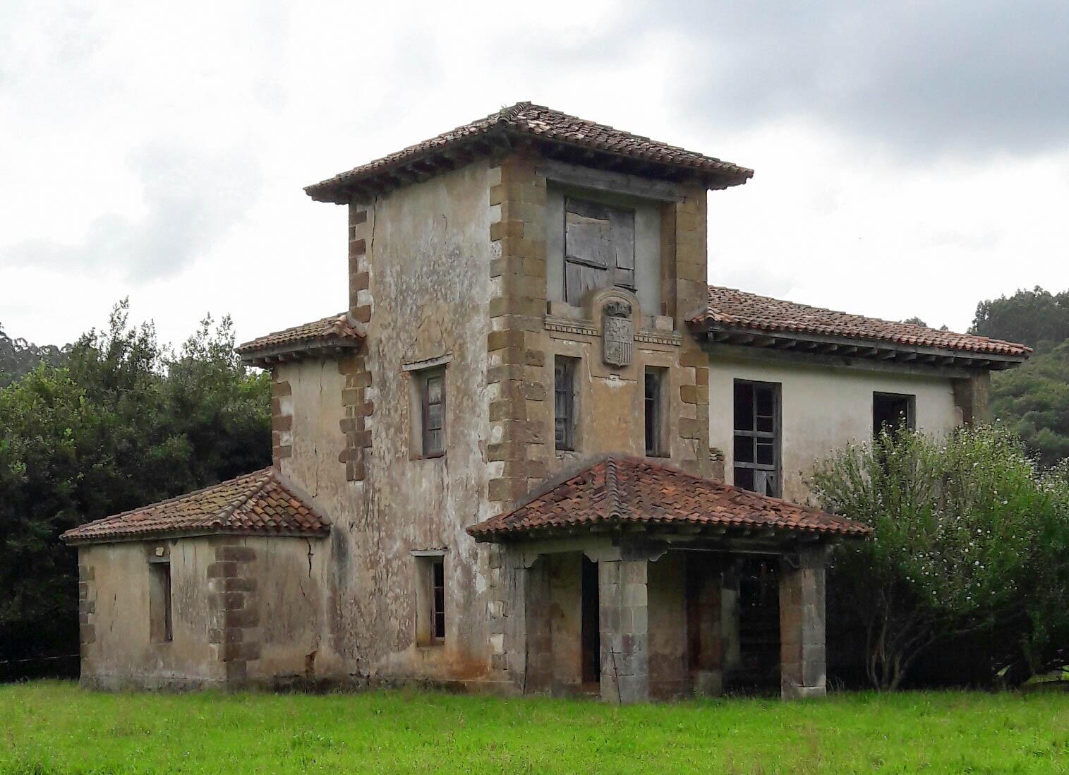 Casona de la Condesa de Casa Tagle, San Martín de Cigüenza
