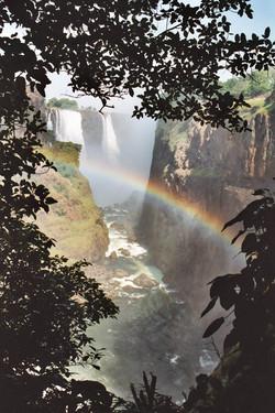 Victoria Falls view, Zimbabwe