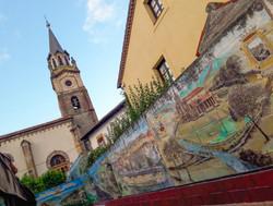 Mural, La Iglesia, Cantabria