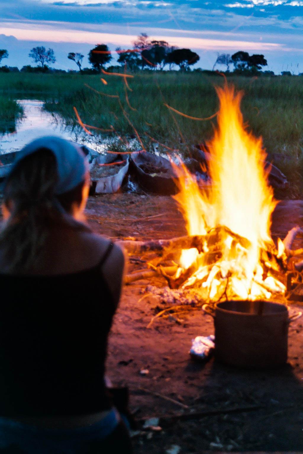 Okavango Delta camp