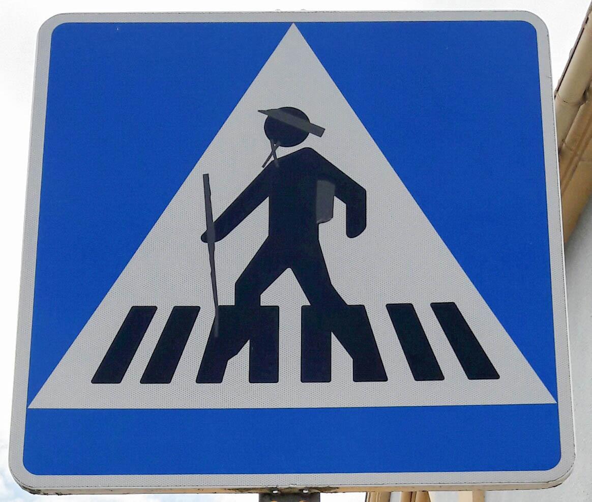 Pilgrims Crossing!