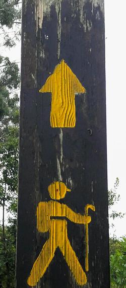 Pilgrim waymarker