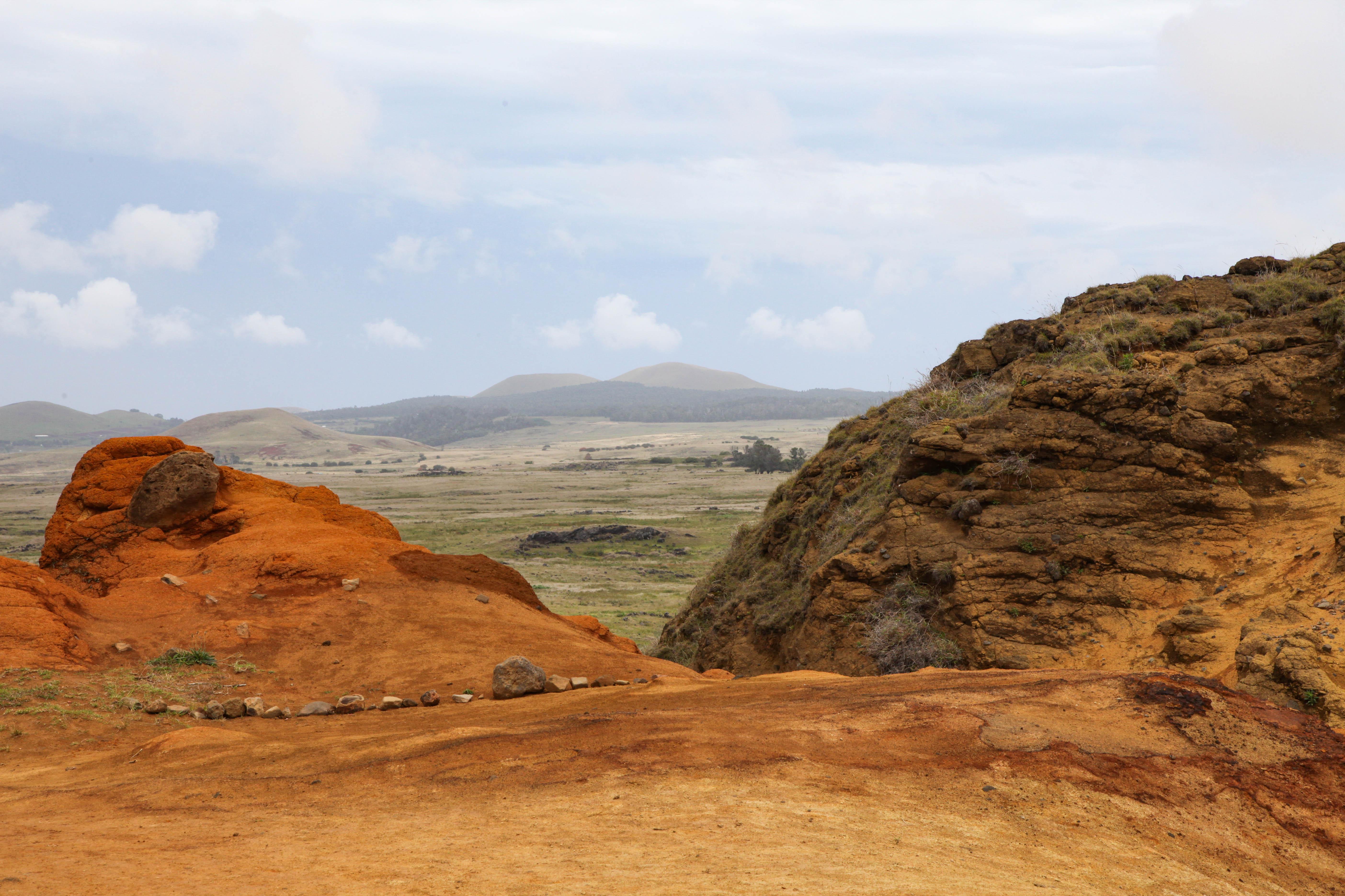 View from Rano Raraku