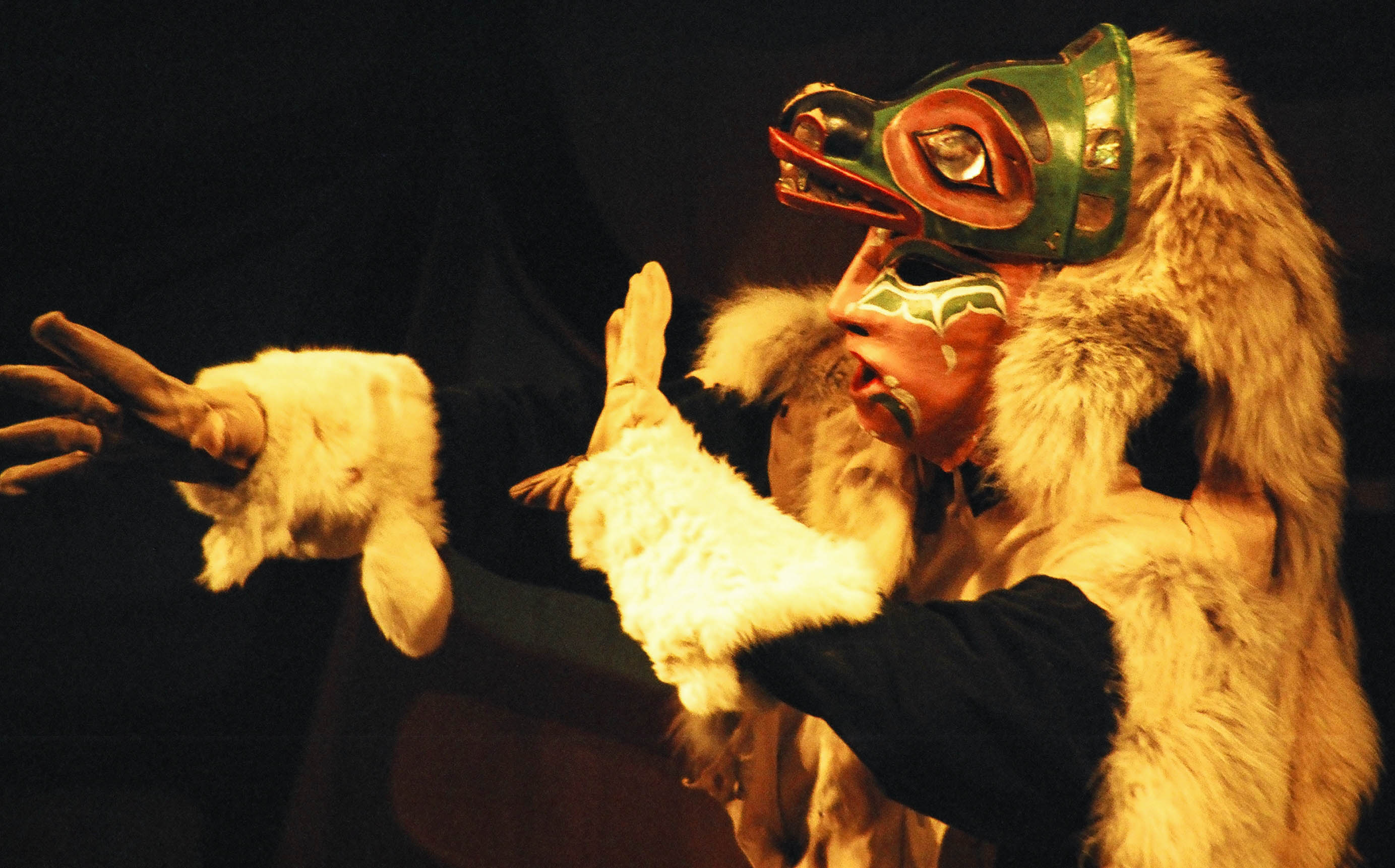 Wolf, The Chilkat Dancers, Haines