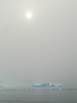 Castellated iceberg, Antacrtica