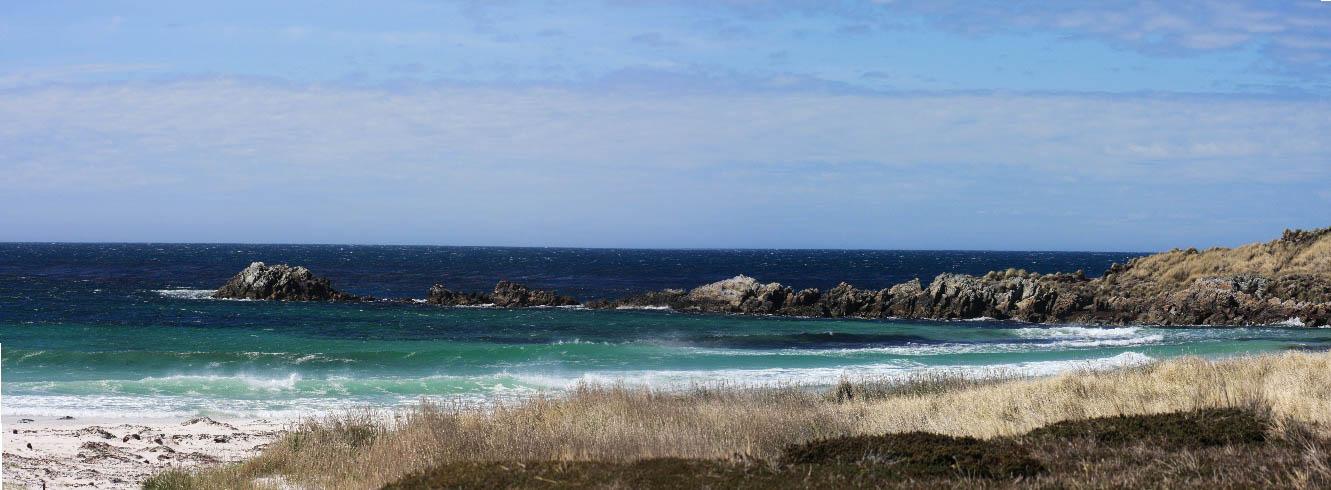 Stanley Coast, The Falkland Islands
