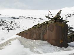 Tanks, Hektor Whaling Station, Deception Island