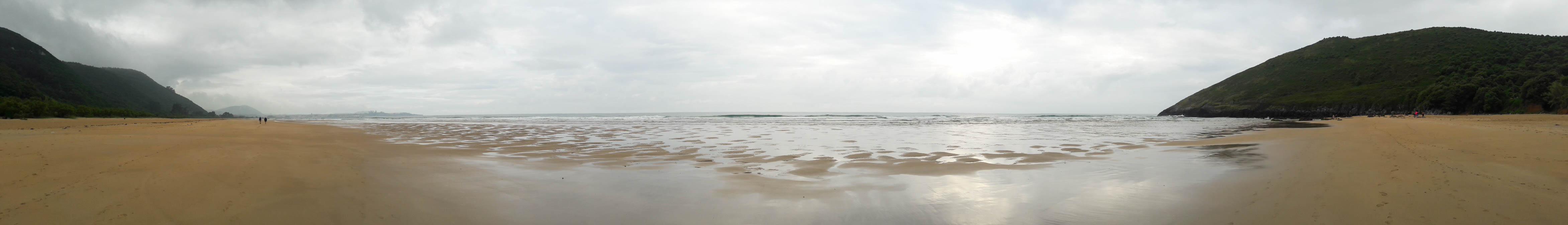 Playa de Noja panoramic