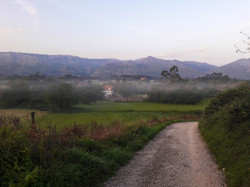 Morning mist, Asturias