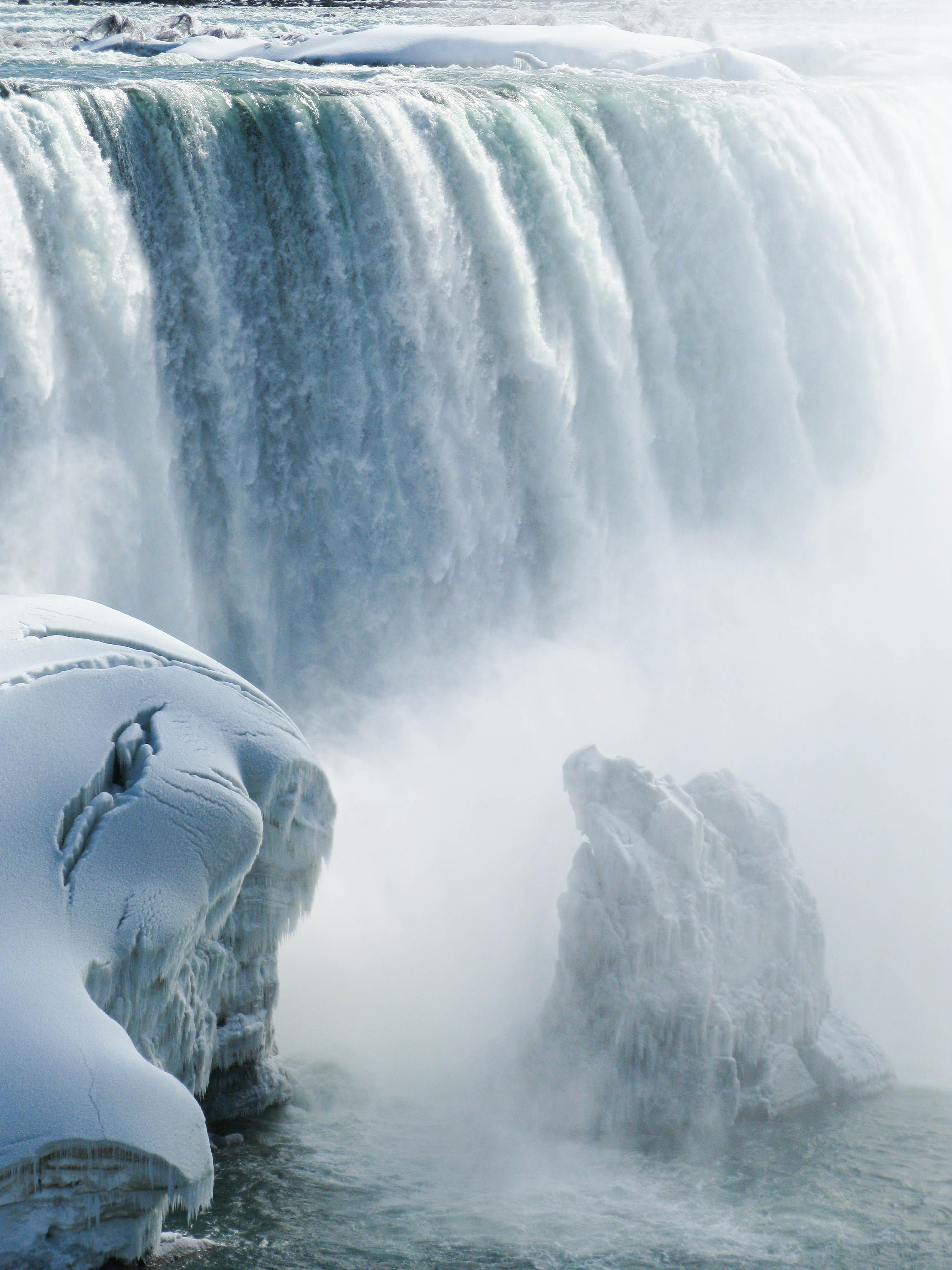 Snowy American Falls, Niagara Falls